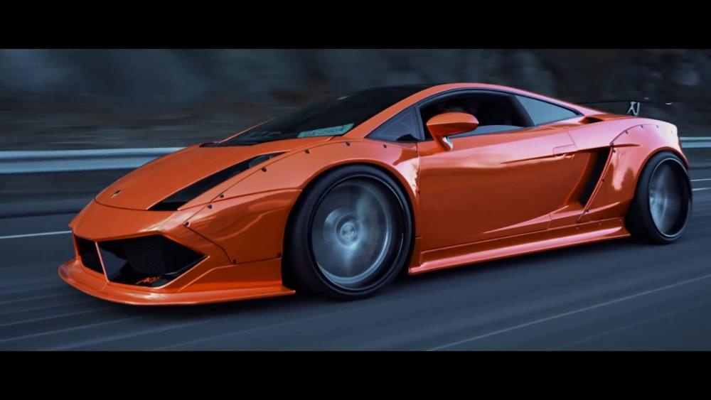 Embedded thumbnail for Liberty Walk Body Kit na Lamborghini Gallardo Niche Bastille